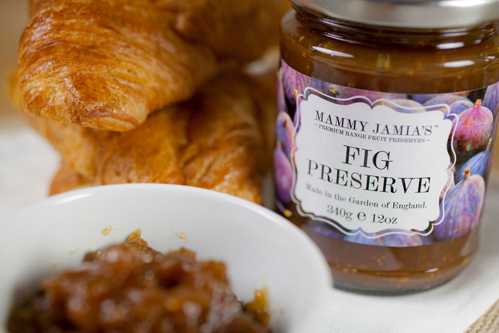 Mammy-Jamia's-Fig-Preserve-with-croissant